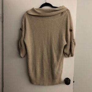 Ann taylor cowl neck knit sweater